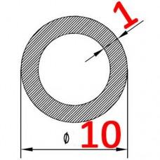 Труба алюминиевая 10х1 б.п. круглая