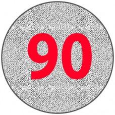 Алюминиевый круг 90 мм