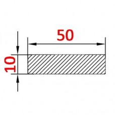 Алюминиевая полоса 50х10 б.п.