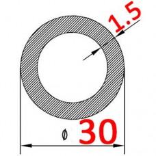 Труба алюминиевая 30х1.5 AS круглая