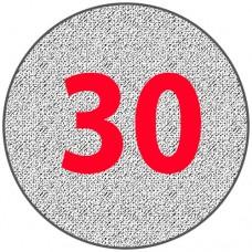Алюминиевый круг 30 мм